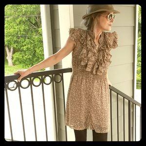 Poetry Clothing Mini Shirt Dress